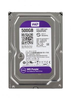 Ổ cứng Western tím WD Purple 500GB WD05PURX