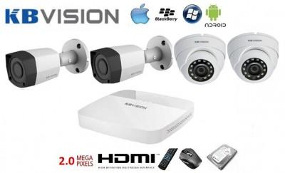 Lắp đặt camera KBvision 1.0 Megapixel