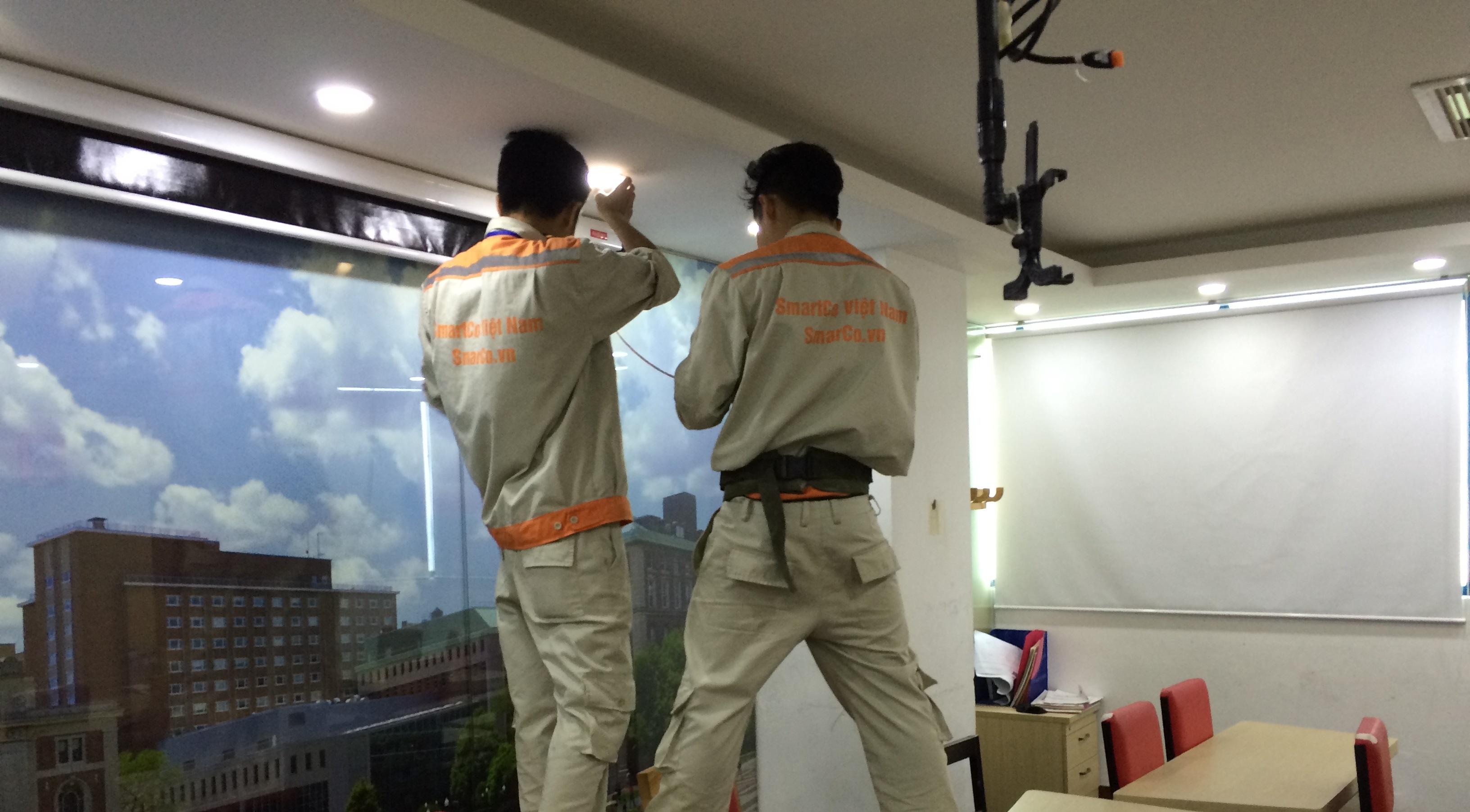 Lắp đặt camera giám sát tại Hà Đông