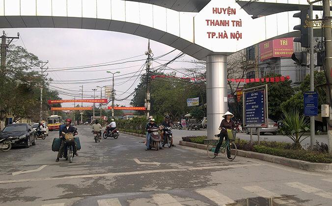Lắp đặt camera ở huyện Thanh Trì