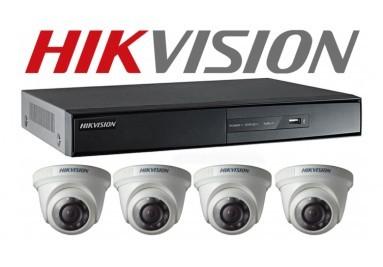 Trọn bộ camera HIKVISION HD-TVI 1.0Megapixel