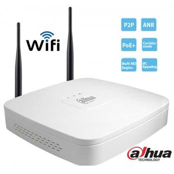 Đầu ghi camera IP Wifi 4 kênh Dahua NVR4104-W