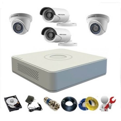 Lắp đặt camera Full HD Hikvision 2.0 MP