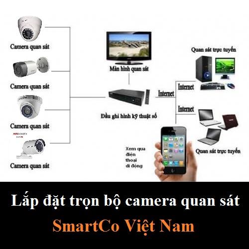 Lắp đặt trọn bộ Camera Giá rẻ